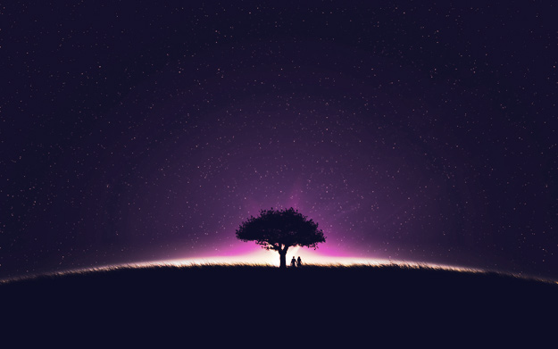 Љубов, ти и јас, и едно ѕвездено небо