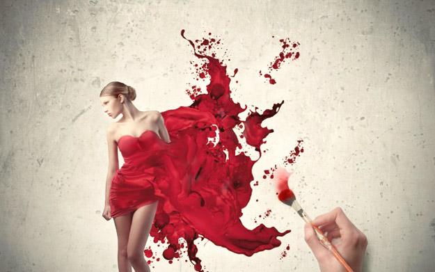 Под црвената свила
