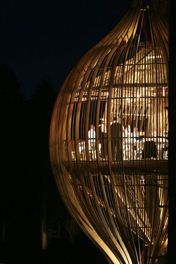 Ресторан на дрво во Нов Зеланд