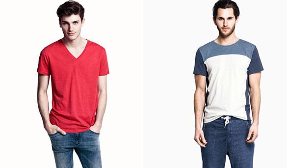 H&M за мажи, пролет-лето 2013