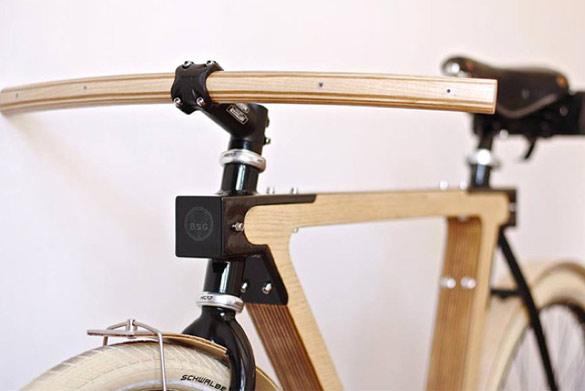 Велосипед од дрво (2)