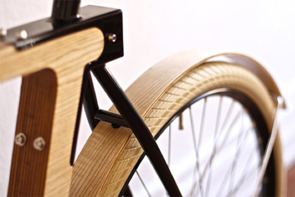 Велосипед од дрво (4)