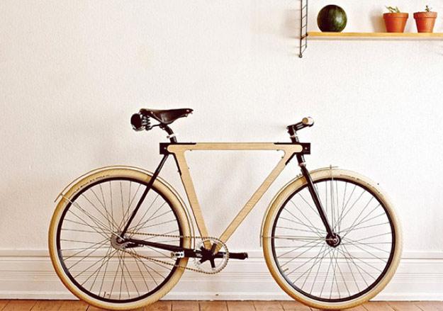 Велосипед од дрво