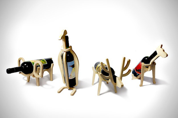 Креативни држачи за вино