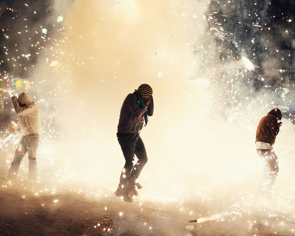 Фотографии од фестивалот на пиротехника во Мексико 2