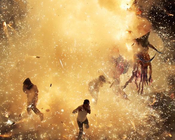 Фотографии од фестивалот на пиротехника во Мексико 3