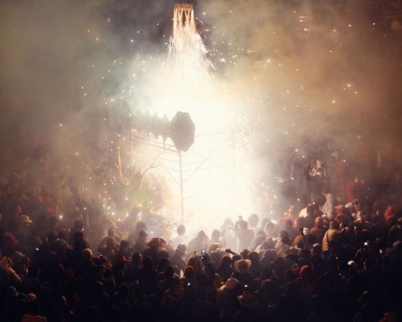 Фотографии од фестивалот на пиротехника во Мексико 5