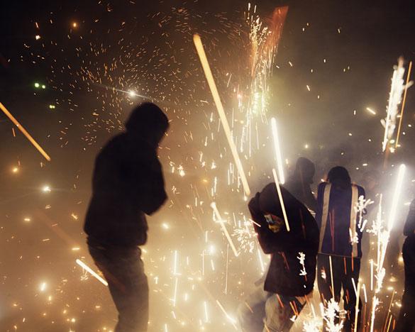 Фотографии од фестивалот на пиротехника во Мексико 7