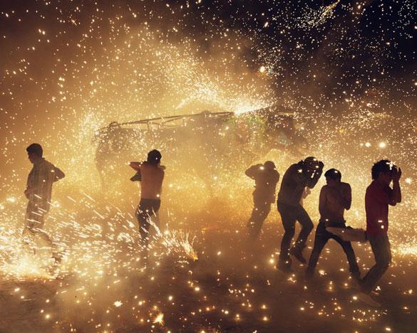 Фотографии од фестивалот на пиротехника во Мексико 9