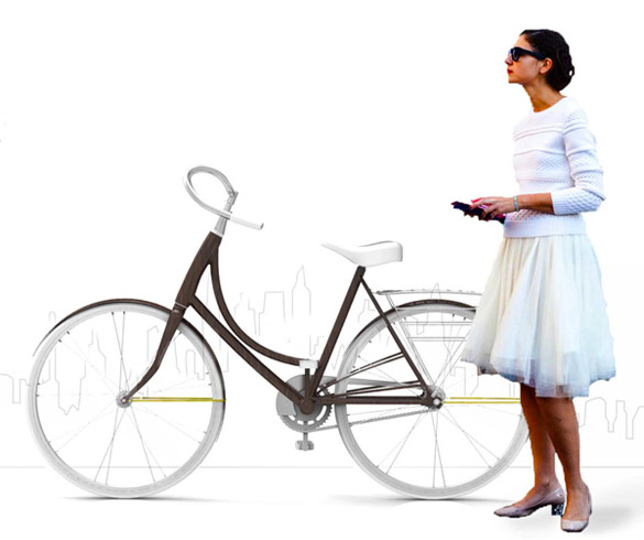 Fluxa - стилски велосипед за урбани девојки