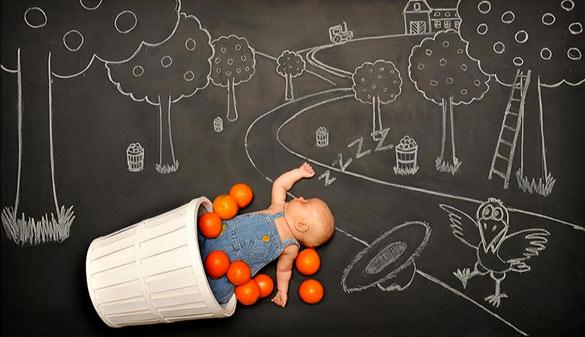 Креативната мајка и заспаните бебиња