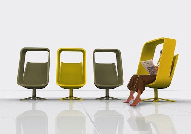 Столче кое овозможува јавна приватност