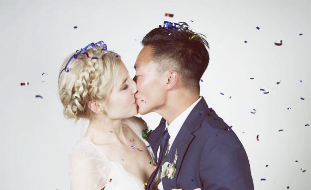 Симпатично свадбено видео