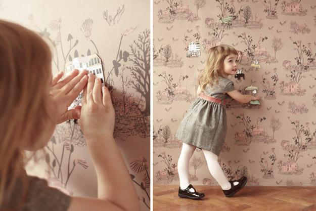 Магични тапети за собата на вашето дете