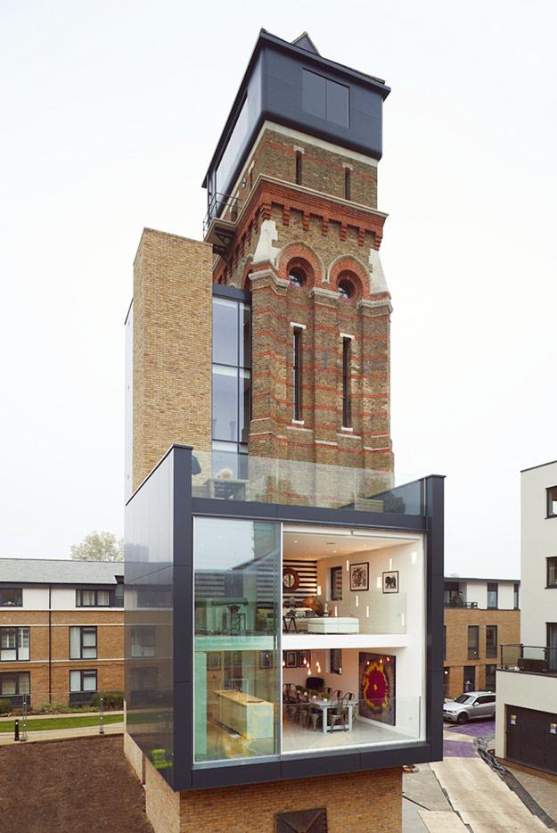 Модерен замок во срцето на Лондон