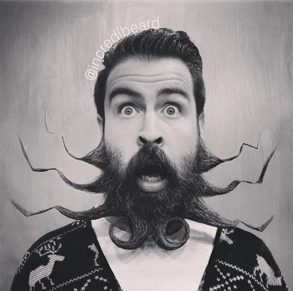 Ова е најоткачената брада во цел свет
