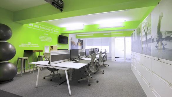 Редизајнираните канцеларии на Nike во Лондон