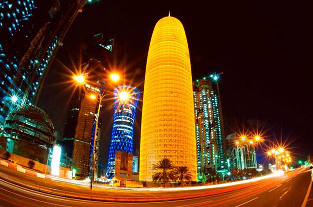 Чипкаст облакодер во Катар