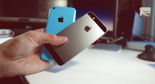 Детална видео-споредба на iPhone 5s и iPhone 5c
