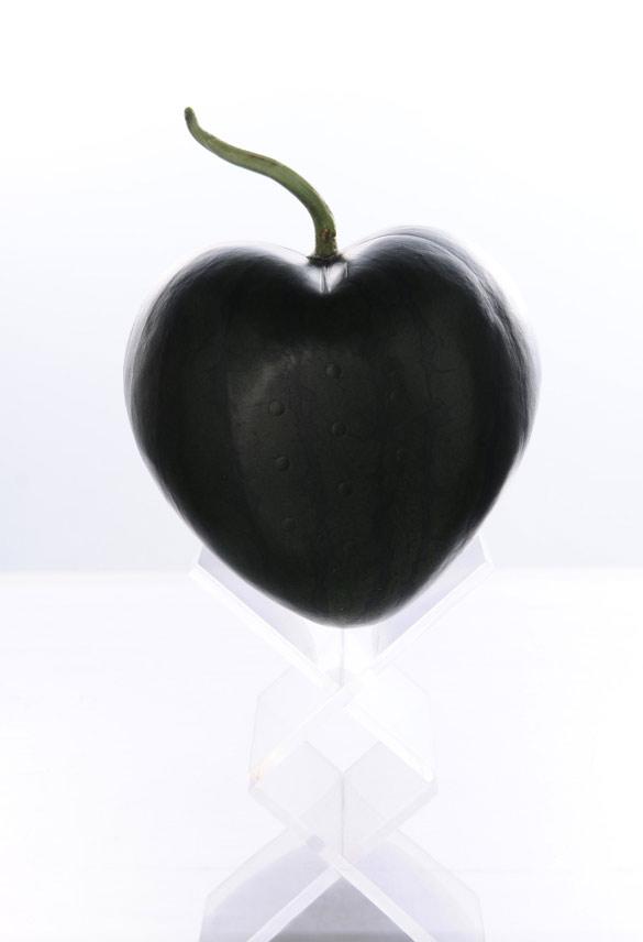 Лубеница со форма на срце