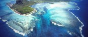 Подводните водопади на Маурициус
