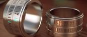 Часовник во вид на модерен прстен