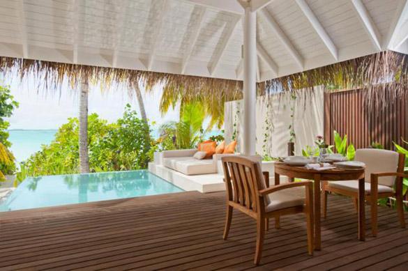 Егзотичен ресорт на Малдивите