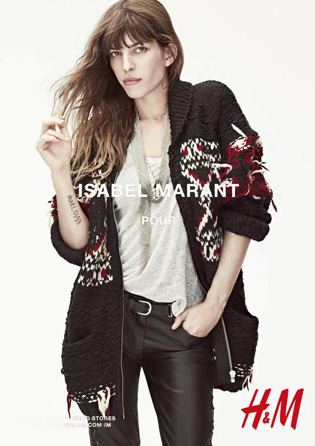 Цела колекција на Изабел Маран за H&M, есен 2013