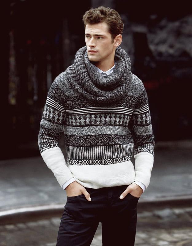 """Најплатениот модел во светот е заштитно лице на """"H&M"""", есен 2013"""