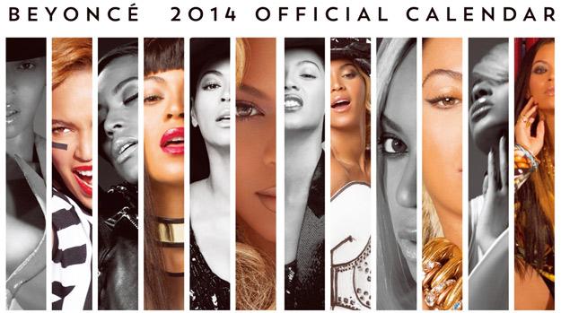 Бијонсе со секси календар за 2014