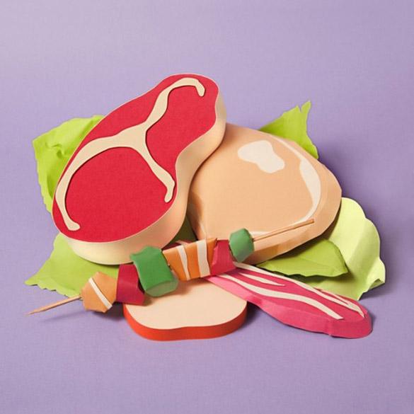 Paper-Craft-Sculptures-Of-Food-iLike-mk-007