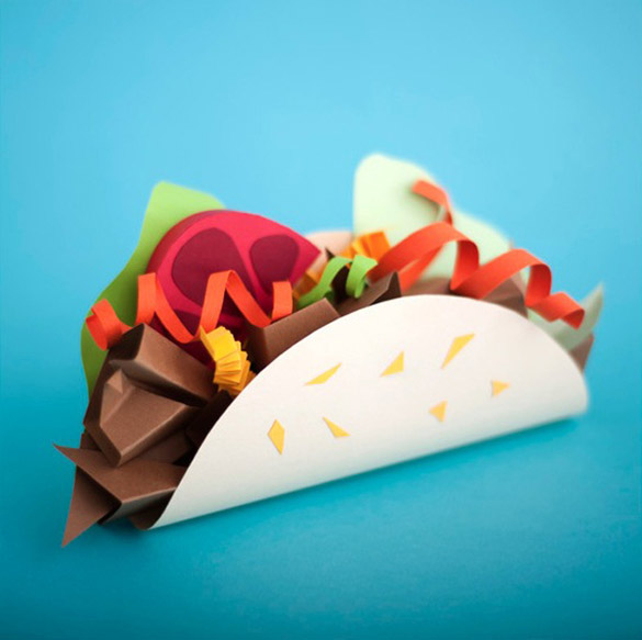Paper-Craft-Sculptures-Of-Food-iLike-mk-009