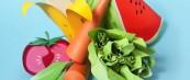 Скулптури на храна изработени од хартија