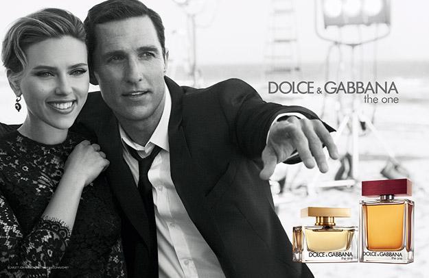 "Скарлет Јохансон и Метју Меконахи за ""The One"" на D&G"