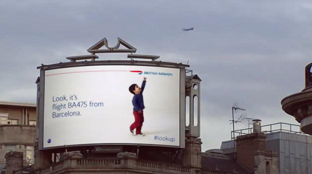 """British Airways"" со интерактивен начин на рекламирање"