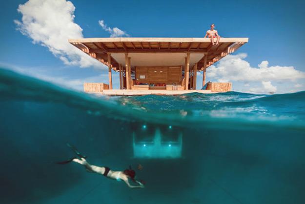 Хотел кој нуди ноќевање под вода
