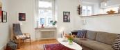 Симпатичен стан опремен со половен мебел