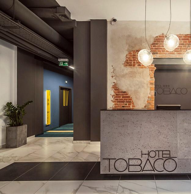 "Новоотворен хотел ""Tobaco"" во Лоџ, Полска"