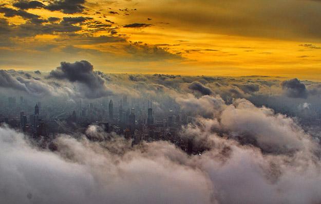 Фотографии направени од највисоката кула во Шангај