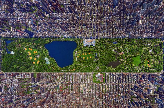 Познати светски метрополи фотографирани од птичја перспектива