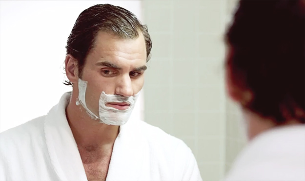 """Федерер и Меси во интересна реклама за """"Gillette"""""""