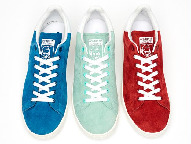 """Легендарниот тенисер Стен Смит со своја """"Adidas"""" линија, пролет-лето 2014"""