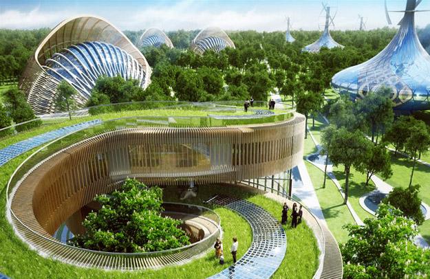 """""""Градина на аромите"""" - Нова футуристичка населба во Кина"""