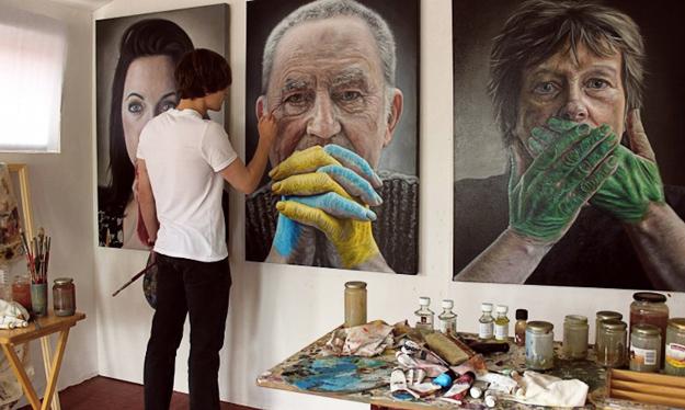 Hyperrealistic-Portraits-Kyle-Barnes-iLike-mk-F