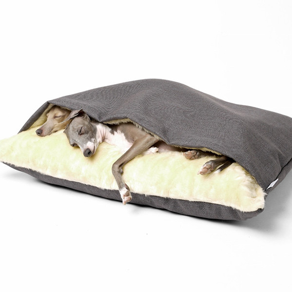 Luxury-Dog-Snuggle-Bed-Weave-4-Colours-Available