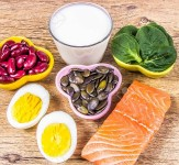 Products containing a lot of vitamin D. A healthy diet - vitamins.